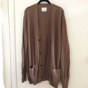 Knit cardigan oversized urban outfitters